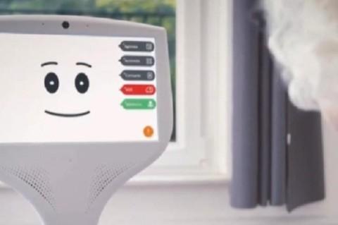 Во Франции создали робота-помощника для пожилых людей на изоляции