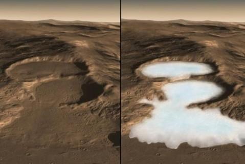 На Марсе ученые обнаружили следы множества ледниковых периодов