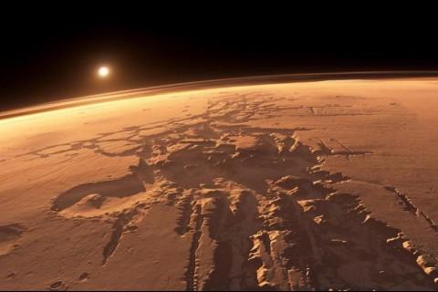 На северном полюсе Марса нашли следы резких изменений климата