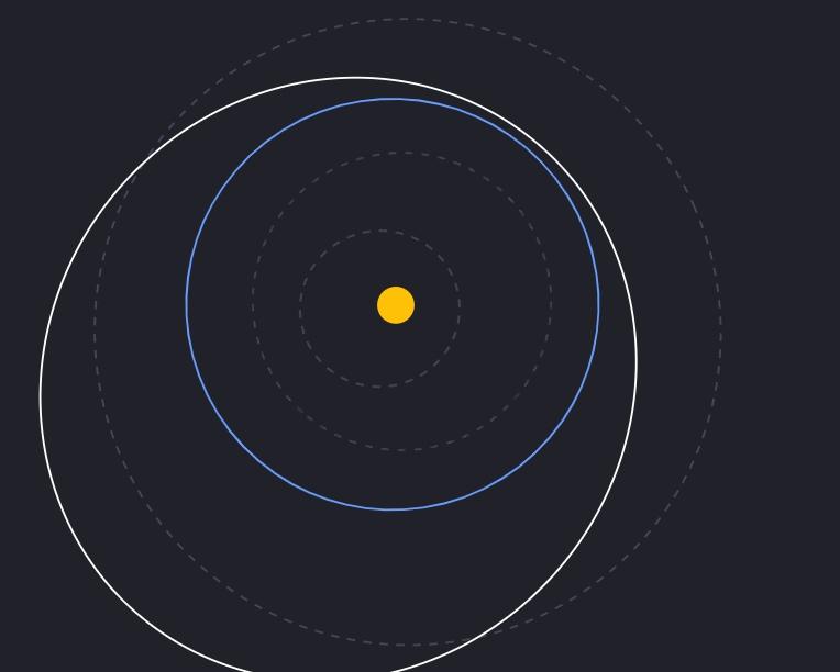 К Земле со скоростью 20 тыс. км в час приближается огромный астероид
