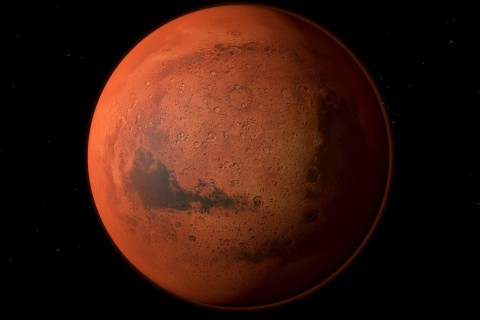 В NASA получили данные об озере на Марсе