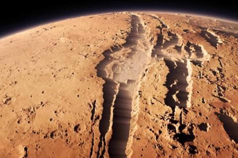 Китайский космический корабль впервые приземлился на Марсе