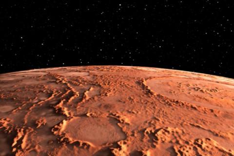 На Марсе засняли сияющие облака
