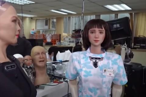 В Китае создали робота для ухода за COVID-больными