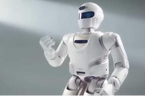 В Китае представили человекоподобного робота