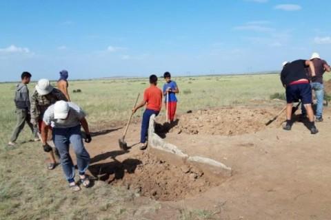 В Казахстане впервые нашли древний артефакт воина
