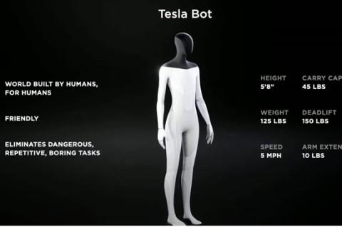 Маск заявил, что создаст робота-гуманоида
