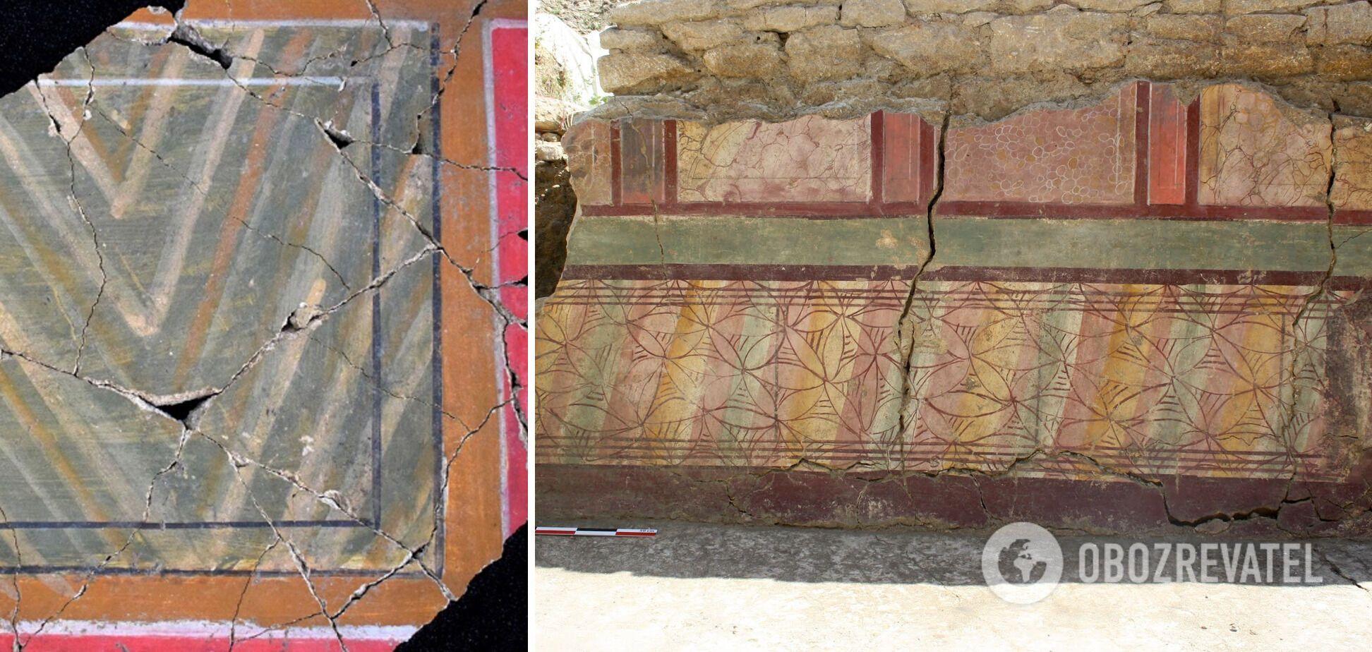 В Доме арфиста во Франции нашли редкие древние фрески