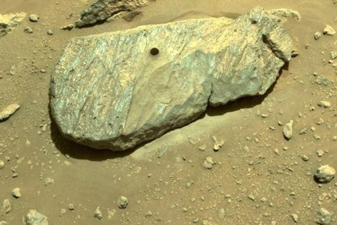 Марсоход NASA добыл первый образец грунта