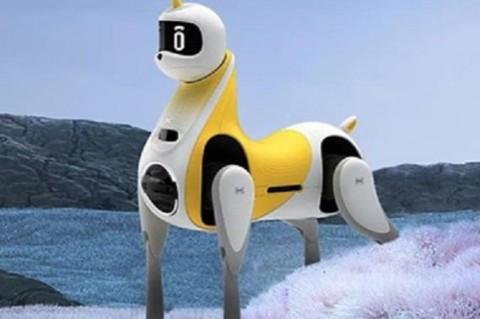В Китае создали роботизированную лошадь