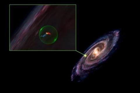 В галактике Млечный Путь обнаружили гигантскую полость