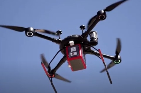 В Греции тестируют способ доставки лекарств дроном