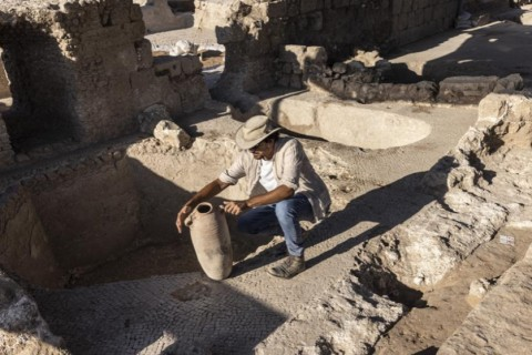 В Израиле нашли древний комплекс по масштабному производству вина